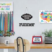 Running Cloud Sign - All Weekend Running