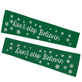 Running Printed Arm Sleeves - Don't Stop Believin'