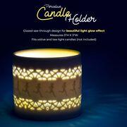 Soleil Home™ Running Porcelain Candle Holder - Runner Girl