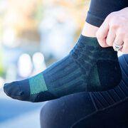 RunTechnology® Performance Socks (Black)