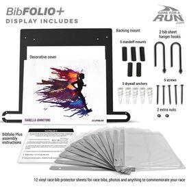 BibFOLIO+™ Race Bib and Medal Display - Runnergy