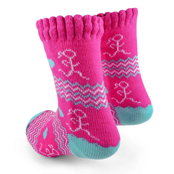 Running Slipper Socks with Sherpa Lining