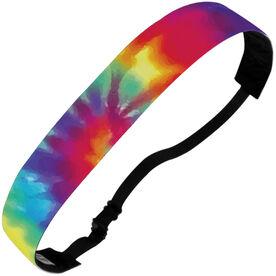 Athletic Juliband No-Slip Headband - Tie Dye Spiral