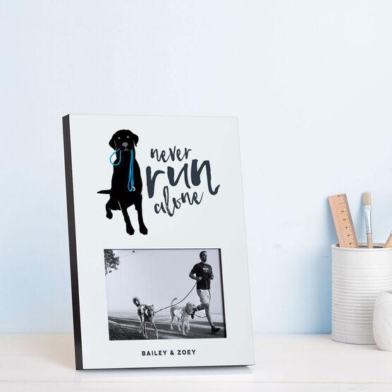 Running Photo Frame - Never Run Alone
