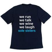 Women's Short Sleeve Tech Tee - Sole Sisters Mantra