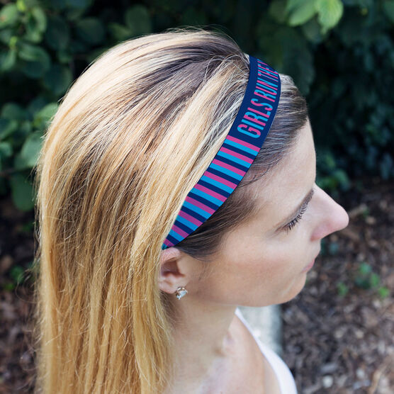Running Julibands No-Slip Headbands - Girls Run The World