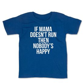 Running Toddler Short Sleeve Tee - If Momma Doesn't Run