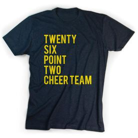 Running Short Sleeve T-Shirt - Twenty Six Point Two Cheer Team