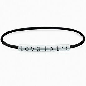 love to tri Band Bracelet