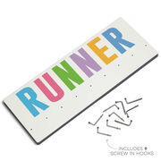 Running Hooked on Medals Hanger - Runner