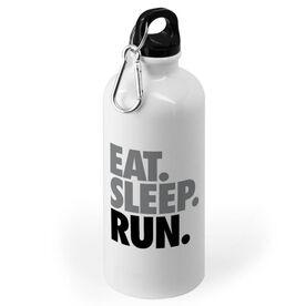 Running 20 oz. Stainless Steel Water Bottle - Eat. Sleep. Run.