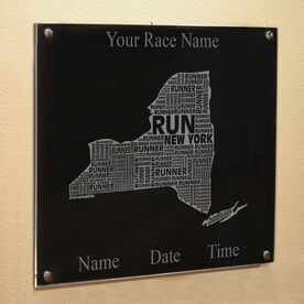 New York State Runner Wall Art