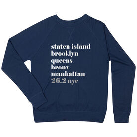 ff85cea9e8 Running Raglan Crew Neck Sweatshirt - Run Mantra - NYC