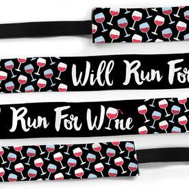 Running Juliband No-Slip Headband - Will Run For Wine