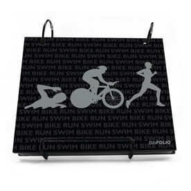 BibFOLIO® Race Bib Album - Swim Bike Run Repeat Guys