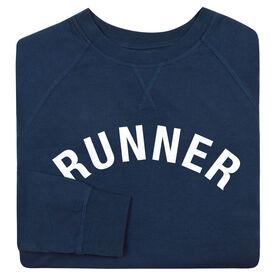 Running Raglan Crew Neck Sweatshirt - Runner Arc