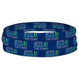 Running Multifunctional Headwear - Moms Run This Town Block Pattern RokBAND