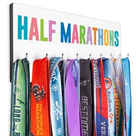 Running Hooked on Medals Hanger - Half Marathons