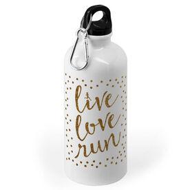 Running 20 oz. Stainless Steel Water Bottle - Live Love Run