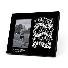 Running Photo Frame - Courage To Start Tattoo