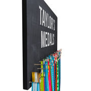 Running Large Hooked on Medals Hanger - Customize Me