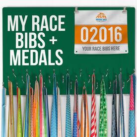 Hooked On Medals Bib & Medal Display My Race Bibs + Medals