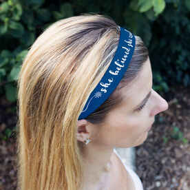 Running Julibands No-Slip Headbands - She Believed She Could So She Did
