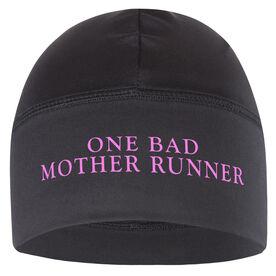 Run Technology Beanie Performance Hat - One Bad Mother Runner