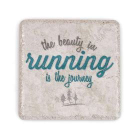 Running Stone Coaster The Beauty In Running