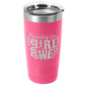 Running 20oz. Double Insulated Tumbler - Running On Girl Power