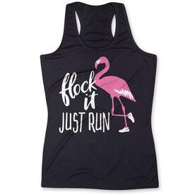 Women's Performance Tank Top - Flock It Just Run