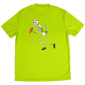 Men's Running Short Sleeve Tech Tee Never Stop Running