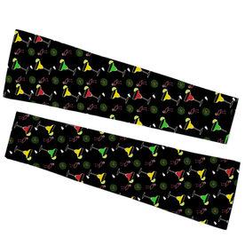 Running Printed Arm Sleeves - Margaritas Pattern