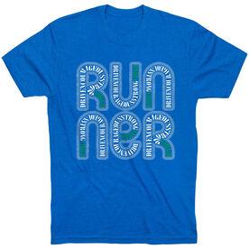 Running Short Sleeve T-Shirt - Virgo Zodiac Runner
