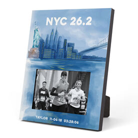 Running Photo Frame - New York City Sketch