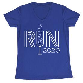Women's Short Sleeve Tech Tee - Resolution Run 2020