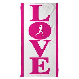 Running Beach Towel Runners Love