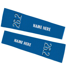 Running Printed Arm Sleeves - 26.2 Marathon (Dimensional)