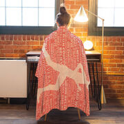 Running Premium Blanket - Inspiration Female