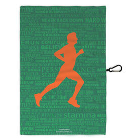 Running Workout/Golf Towel Inspiration Male