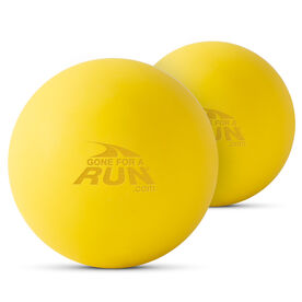 Lacrosse Massage Recovery Balls - Gone For a Run Logo (Set of 2)