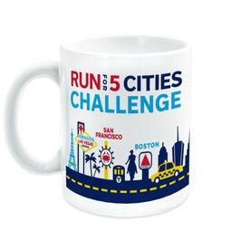 Running Coffee Mug - Run For 5 Cities Challenge