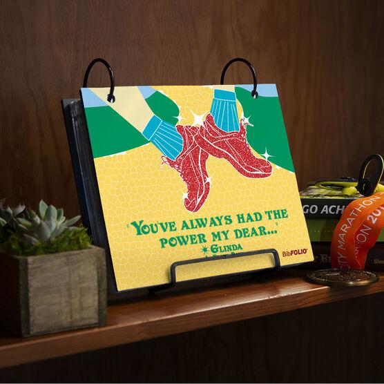 BibFOLIO® Race Bib Album - You've Always Had The Power
