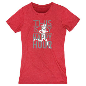 Women's Everyday Runners Tee This Is My Happy Hour