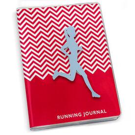 GoneForaRun Running Journal - Chevron Runner Girl