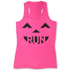 Women's Performance Tank Top Pumpkin Run