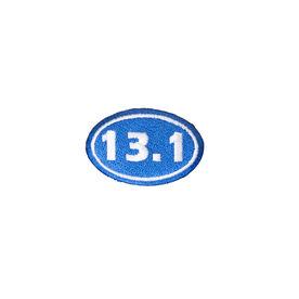 Half Marathon 13.1 Iron-on Patch - Blue