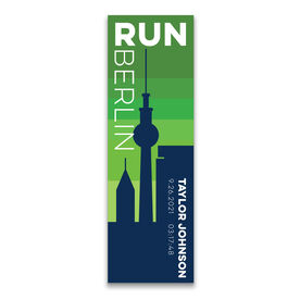 """Running 12.5"""" X 4"""" Removable Wall Tile - Personalized Run Berlin"""
