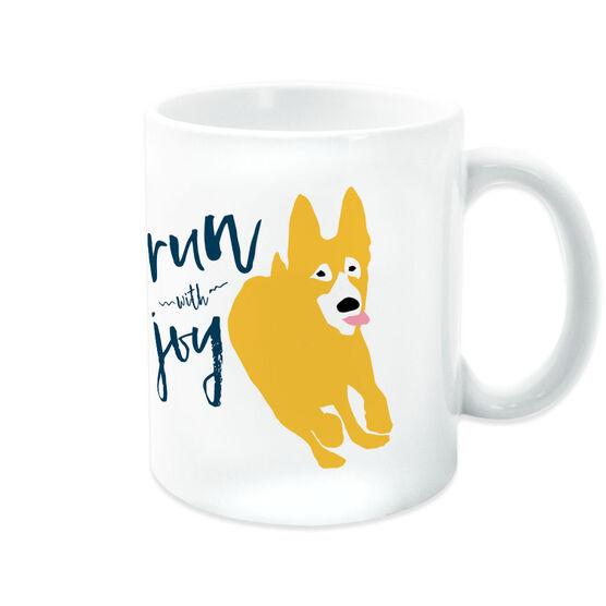 Running Coffee Mug - Run With Joy