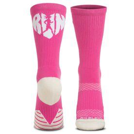 Socrates® Mid-Calf Performance Socks - Love The Run